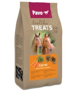 Pavo Healty Treats 1 kg - Paardensnack - Wortel